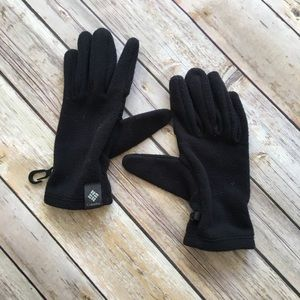 Black Columbia Gloves Youth